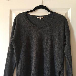 Madewell low-high shirt